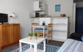 Appartement 1 pièce - 21 m² environ - jusqu'à 2 personnes.
