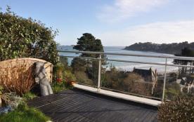 Appartement avec belle vue mer / terrasse et wifi, à 400m de la plage de Trestraou et 700m des co...