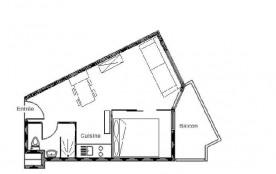 Appartement 2 pièces 4 personnes (303)