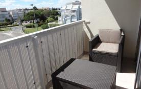 P2 4 COUCHAGES - LAVE-LINGE - PARKING. Résidence LES SALADELLES - Type : 2 pièces + terrasse en t...