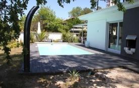 FR-1-319-57 - Villa avec piscine sur le lac de Biscarrosse