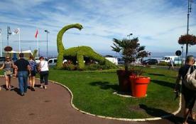 dynosaure emblème de villers sur mer