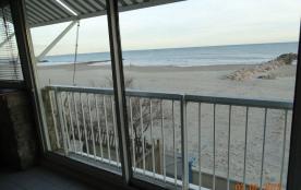 Bel appart de 110 m2 sur la plage, face mer,à Palavas 1300/1500 £ semaine