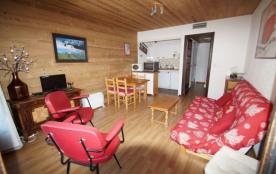 2 pièces - Appartement de 40 m², au pied du nouveau télésiège du Diable, départ et retour skis au...