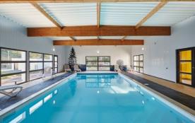 Village de cottages avec piscine couverte et chauffée à l'année - Le Gavre