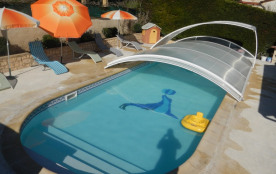 Maison de vacances avec piscine privée