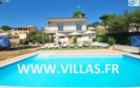 Villa CV Sar - Belle villa avec de beaux extérieurs située à l'extérieur de la ville de Lloret de...
