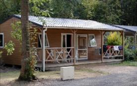 Camping Moncontour Active Park - Chalet bois 27 m²