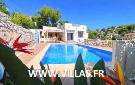 Villa VM ROSA - Belle maison située dans un quartier résidentiel calme et arboré (Buenavista) entre Calpe et Moraira ...