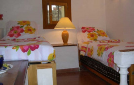 Charming second bedroom, cool and peaceful