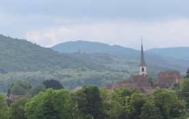 Vue lointaine du village