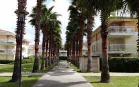 Les jardins d'Antibes : beau 2 pièces classé