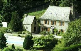 Maison de caractère avec piscine privée, rural, Entraygues sur Truyère