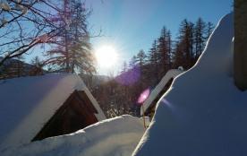 Lever de Soleil, après les fortes chutes de neige..