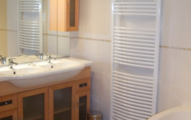 Salle de bain rez de chaussée (douche et baignoire)