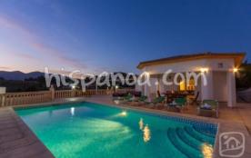 Cette villa à louer sur la Costa Blanca r