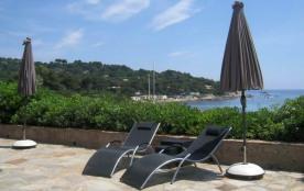 Saint-Tropez - Ramatuelle - villa sur la plage