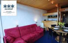 Studio grand confort, rénové, classé 3* Paradiski, Arc 1800,  vue panoramique