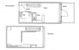 Appartement 2 pièces mezzanine 6 personnes (504)
