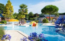 Camping Le P'tit Bois - Mh COTTAGE 3 Fleurs 3Ch 6pers + Terrasse