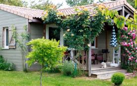 location maison de bois 3 étoiles A JONZAC