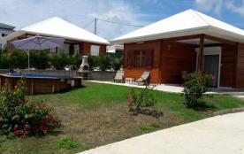 Villa T2 Cannelle avec piscine privée
