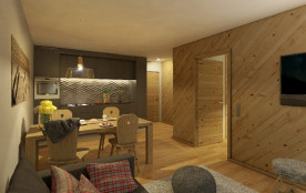 Appartement pour 2 personnes à Vercorin