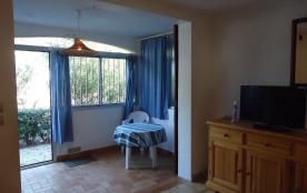 Front de Mer, Argelès Sur Mer, appartement 2 pièces cabine en rez-de-chaussée.
