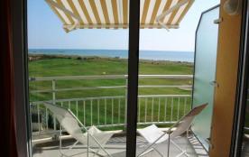 Saint Jean de Monts (85) - Quartier Golf - Résidence Pamplemousse. Appartement 2 pièces + cabine ...