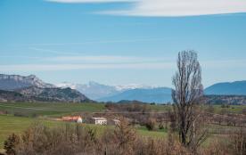 Le hameau de l'Eglantine du Buech