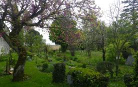jardin attenant au gîte