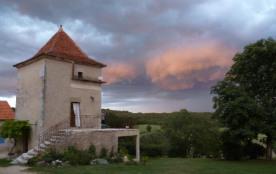gîtes: grangette  ou pigeonnier proche de st cirq lapopie - Saint-Martin-Labouval
