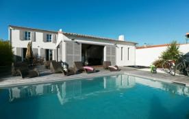 Villa avec piscine et jacuzzi à La Flotte-en-Ré