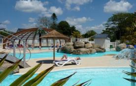 Camping Domaine de Bel Air 5* - Mobil-home 6 personnes - 2 chambres (entre 6 et 10 ans) (Max. adu...