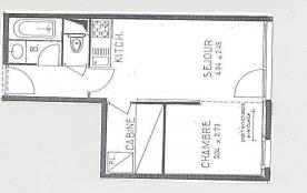 Studio cabine 4 personnes (120)