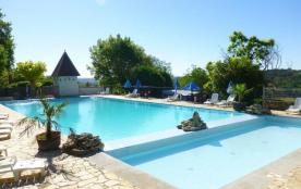 Camping Bleu Soleil, 88 emplacements, 33 locatifs