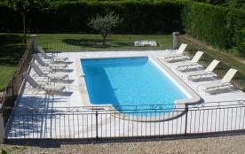 Maison 8 pers. près du Luberon avec piscine privée