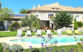 Gîte 9 personnes  en Sud Ardèche avec piscine Proche Des Gorges - Gras