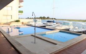 Gaviotas - Appartement 6 personnes à Santa Margarita avec piscine communautaire.