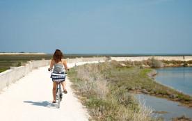 Balade en vélo, marées salant