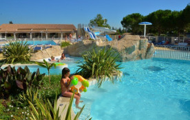 Camping Bon Port - Mh Family 3Ch 6pers + Terrasse