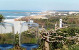 Biarritz-Anglet (64) - Vue mer - Proche de la plage et du golf. Appartement 3 pièces avec terrass...