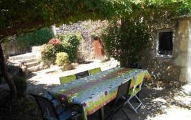 Le Mas La Glycine, Très beau gîte en pierre  avec piscine privée en Ardèche du sud