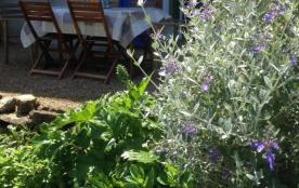 La terrace avec jardin