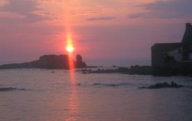 """coucher de soleil sur le """"chateau"""""""