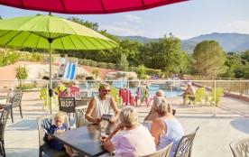 Camping des Albères - Mh Premium 3ch 6pers +  Terrasse Bois au Sol ou Semi-Couverte