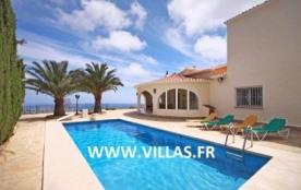 Villa OL Alice - Villa pour 8 personnes à Calpe située dans le quartier résidentiel calme et tran...