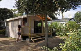 Camping Le California - CHALET CANNELLE 2 chambres