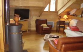 Bel appartement de 100 m² dans chalet exposé plein sud - vue magnifique