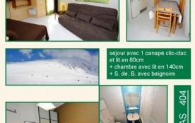 404 Résidence TETRAS 5 pers Cat 4 : Appt au 4ème étage avec balcon vue sur la montagne